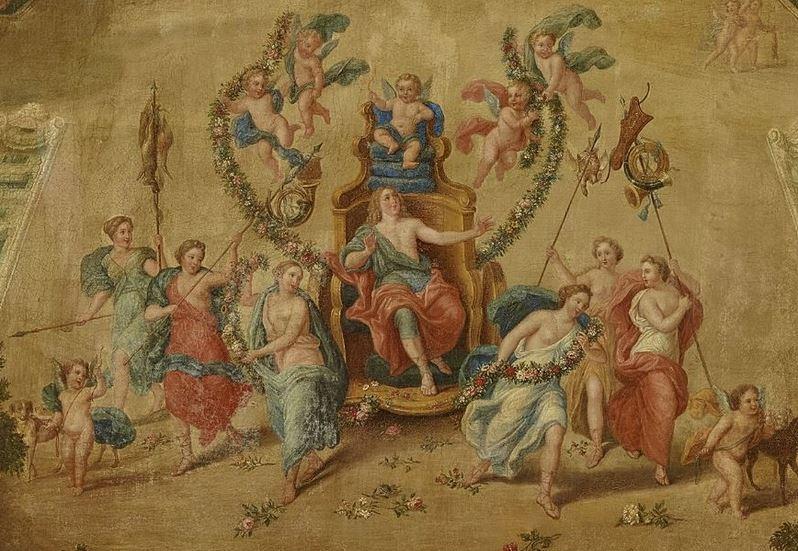 Adonis, heros antique à Versailles Amour_10