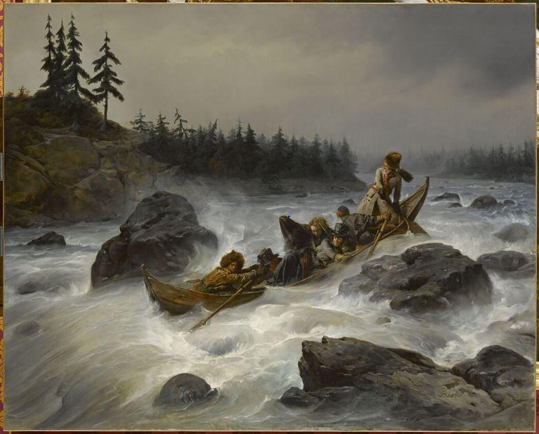 La Laponie Mythique. Le voyage du duc d'Orléans en 1795. Biard110