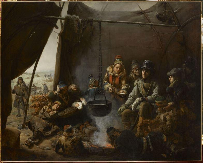 La Laponie Mythique. Le voyage du duc d'Orléans en 1795. Biard210