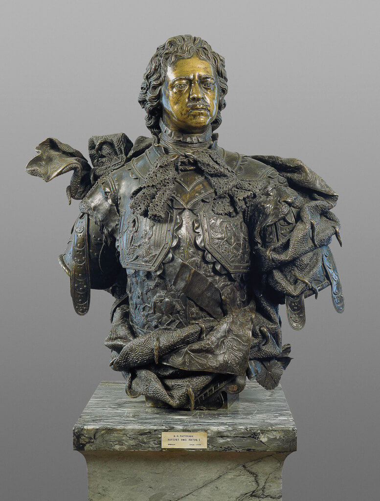 Un Tsar en France, Pierre le Grand et la cour de Louis XV Buste-10