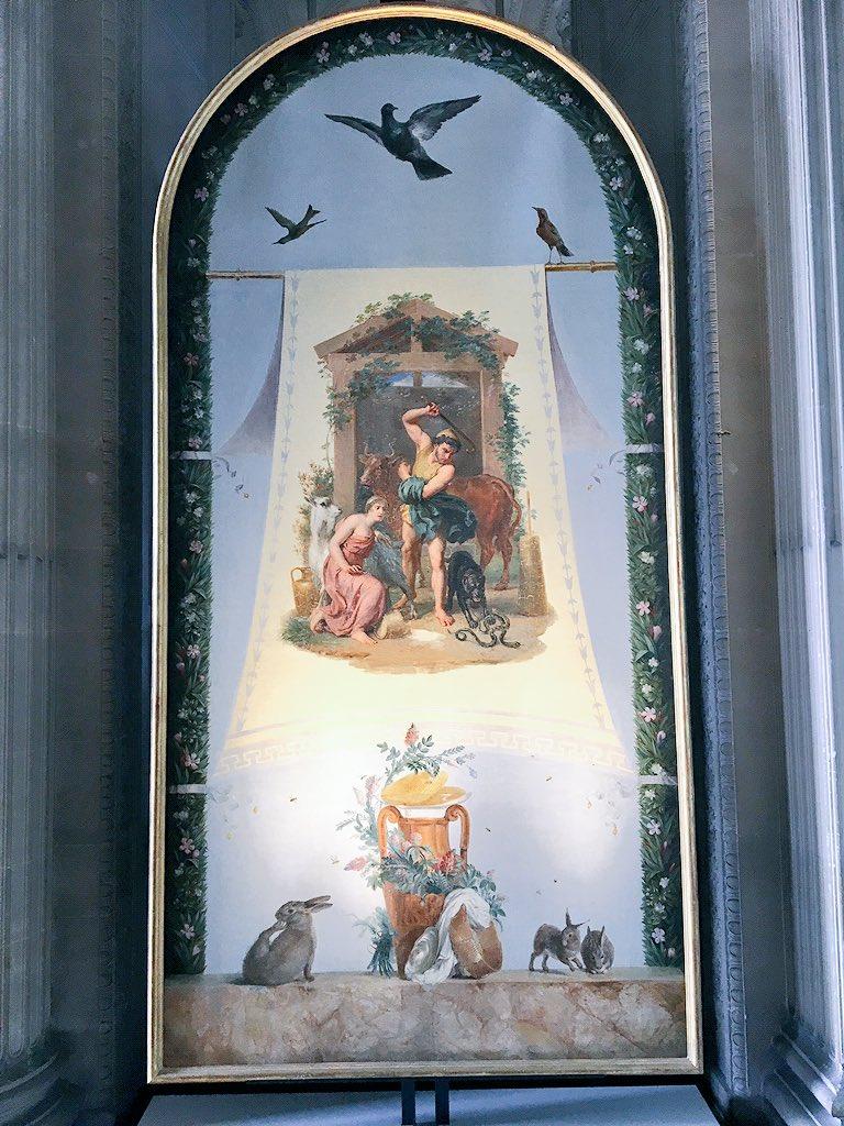 Le mobilier du château de Saint-Ouen s'expose à Maisons C7rtnx11