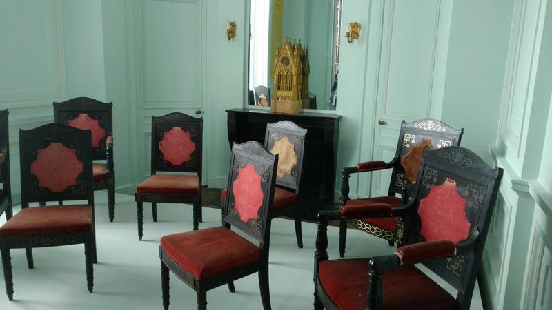 Le mobilier du château de Saint-Ouen s'expose à Maisons C8entf10