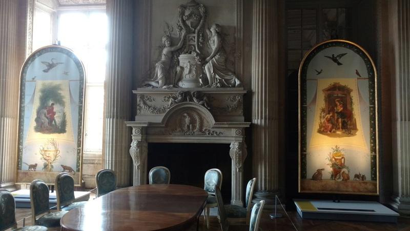 Le mobilier du château de Saint-Ouen s'expose à Maisons C8enuj10