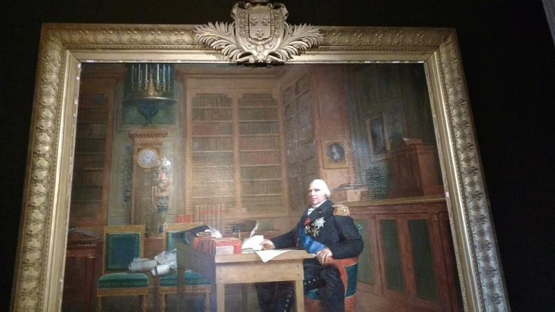 Le mobilier du château de Saint-Ouen s'expose à Maisons C8env010