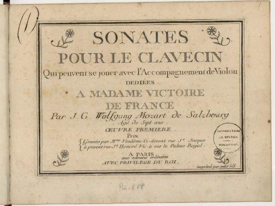 Bibliothèque-musée de l'Opéra: Mozart une passion française  Clavec10