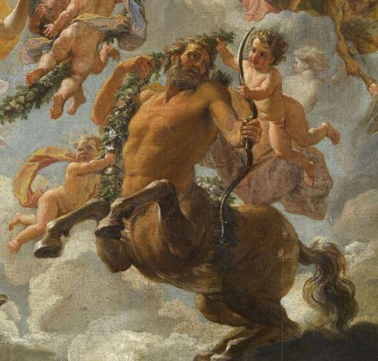 Le centaure, une créature fabuleuse à Versailles  Coypel10