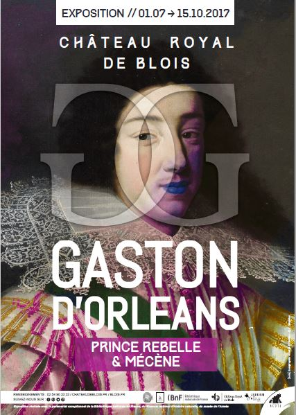 Expo. Blois : Gaston d'Orléans, prince rebelle & mécène Expo_g11