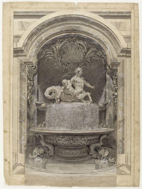 Le centaure, une créature fabuleuse à Versailles  Grosso11