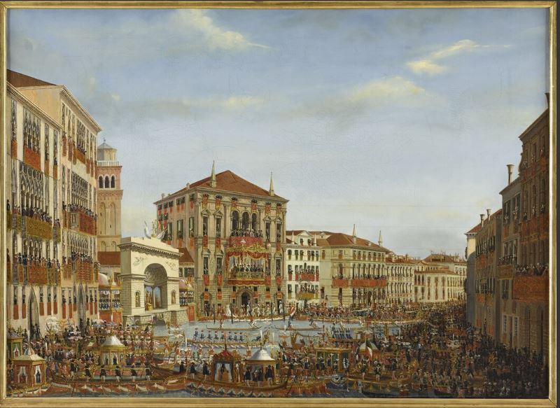 Musée Cognacq-Jay : expo Sérénissime! Venise en fête Napo_v11