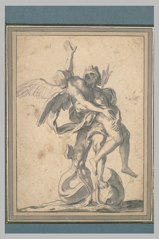 Coronis, Neptune et la corneille Neptun10