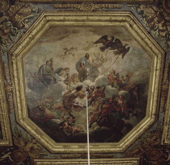 Le centaure, une créature fabuleuse à Versailles  Plafon12