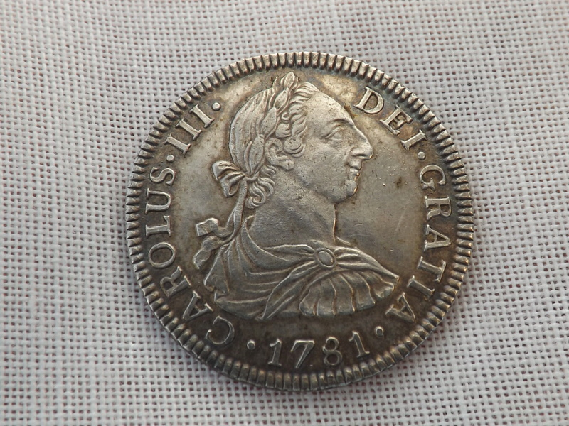 2 reales 1781.Carlos III. Méjico 00311