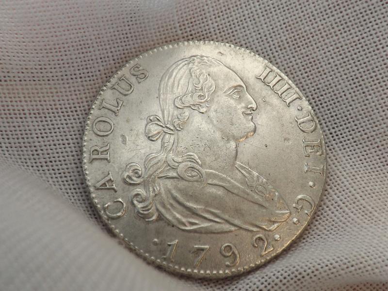 4 reales 1792. Carlos IIII. Madrid 01210