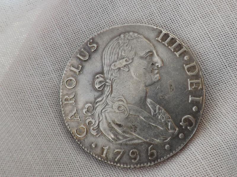 8 Reales Carlos IIII 1795 Sevilla CN 01710