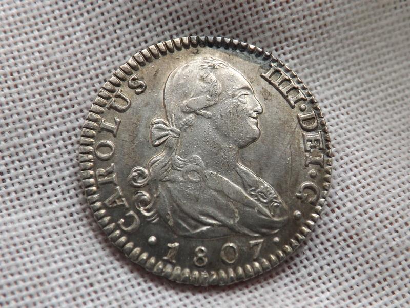 1 real 1807. Carlos IIII. Madrid 01910