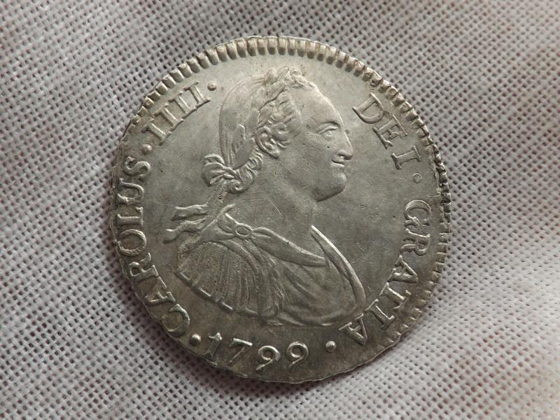 2 reales 1799. Carlos IIII. Lima 02310