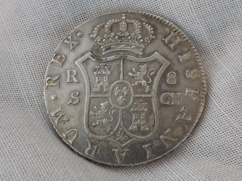 8 Reales Carlos IIII 1795 Sevilla CN 02410