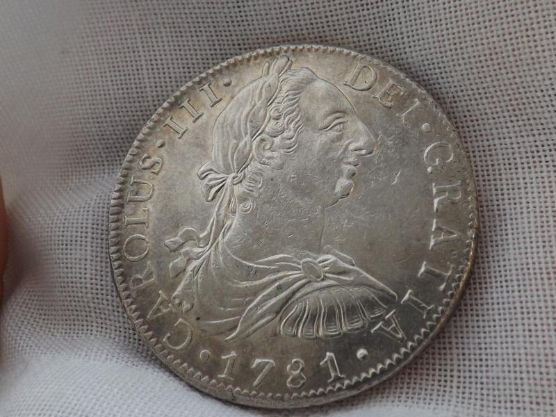 8 Reales 1781. Carlos III. Méjico 03110