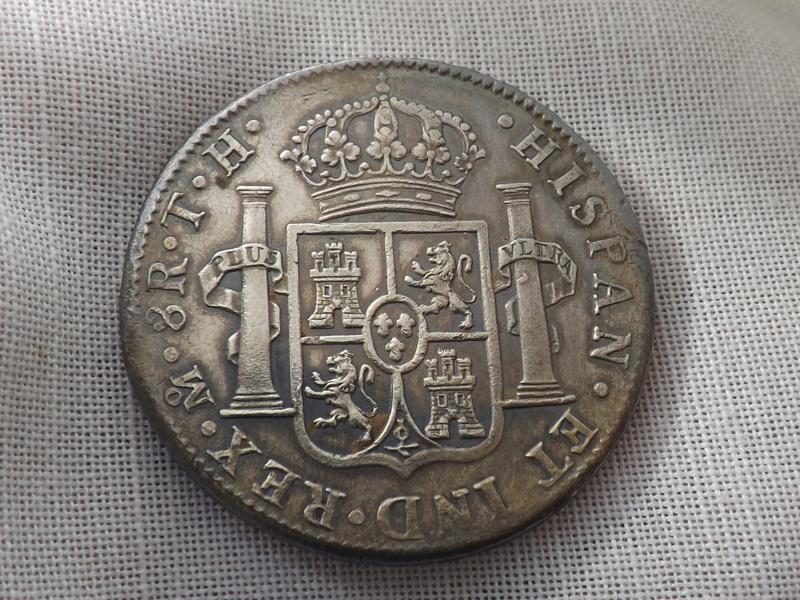 8 Reales 1808. Carlos IIII. Méjico 05410