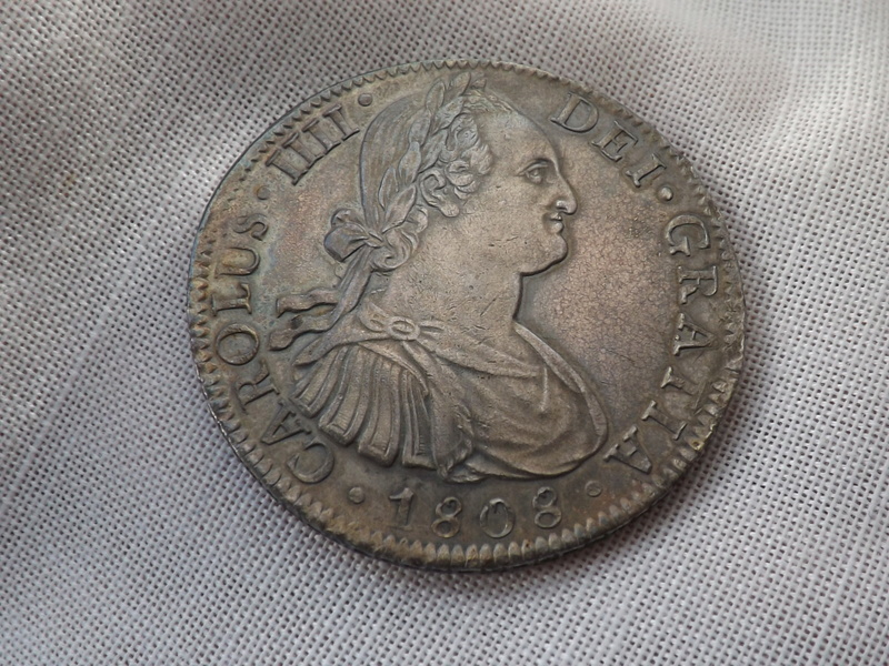 8 Reales 1808. Carlos IIII. Méjico 05710
