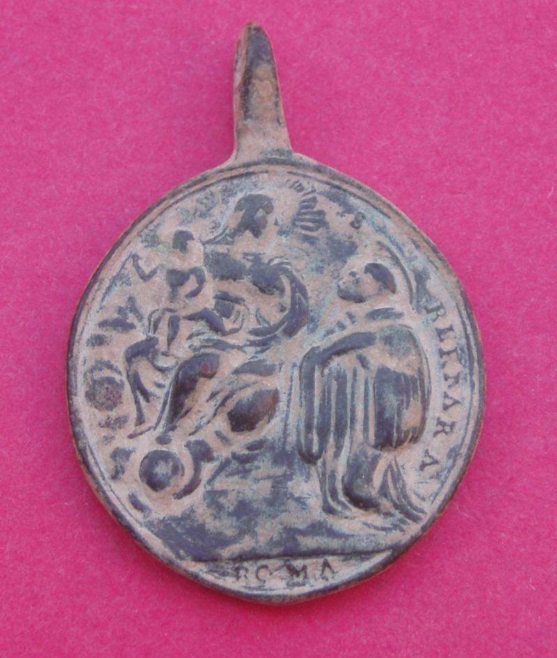 Medalla de San Bernardo y San Benito Iii_1610