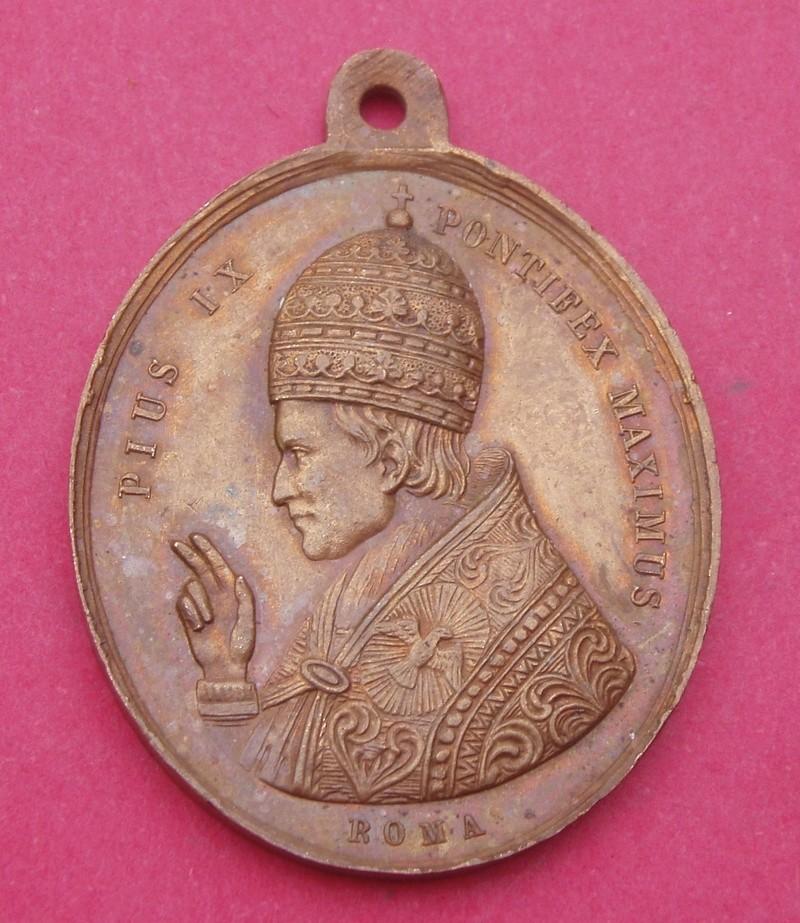 Medalla Pío IX Papa / Santos Pedro y Pablo (R.M. SXIX-O82) Syybad11
