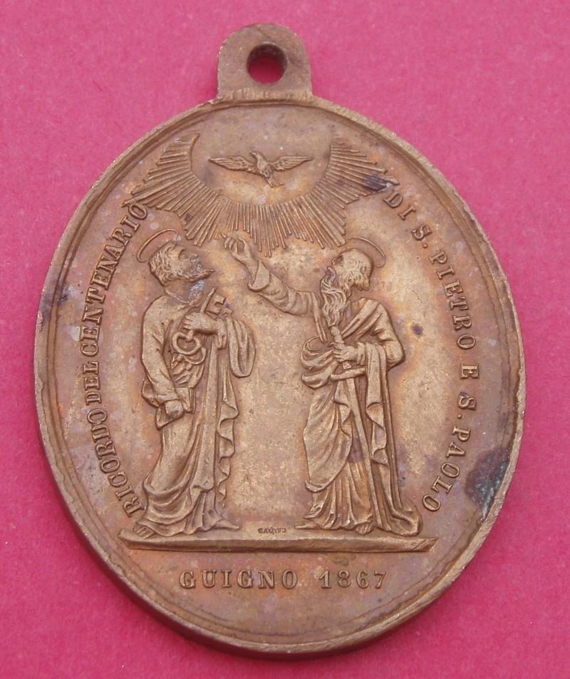 Medalla Pío IX Papa / Santos Pedro y Pablo (R.M. SXIX-O82) Syybad12