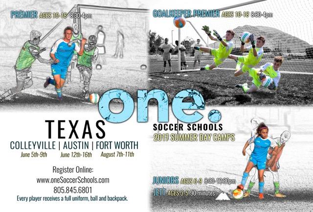 One Soccer Schools Summer Program 2017 Texas_13