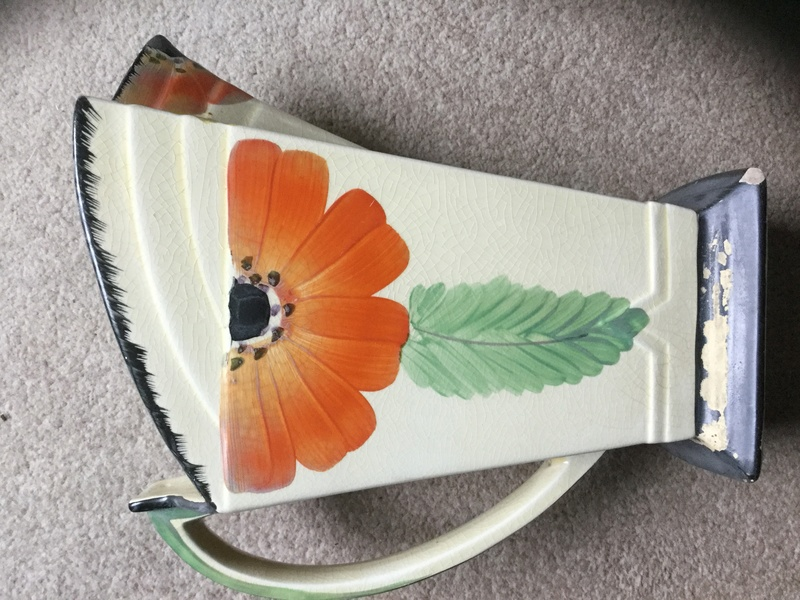 Help identifying Unmarked Art Deco style jug Img_4815