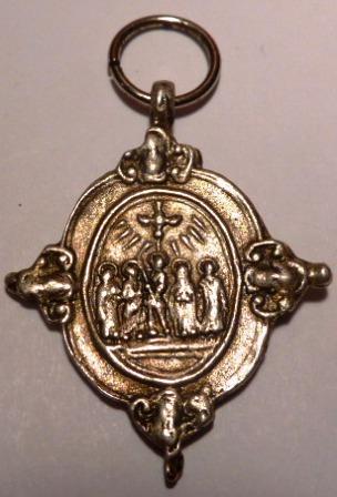 Medalla santos canonizados en 1622 / Virgen del rosario (R.M. SXVII-O427) Piazzo11