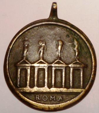 Escalera Santa / Cuatro Basílicas de Roma, S. XVIII Piazzo20