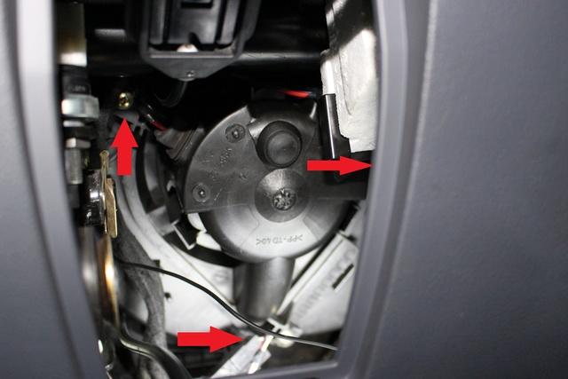 Tuto Changement du moteur de ventillation habitacle Photo_22