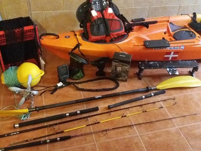 tarpon 120 con accesorios  Kayak-10