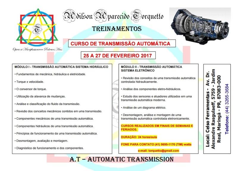 Curso de Transmissão Automática Curso_10