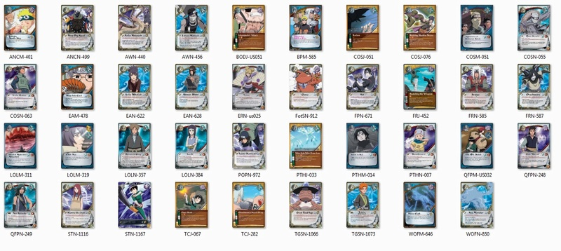All Legal and Reprinted Cards/Sets in Block 2310