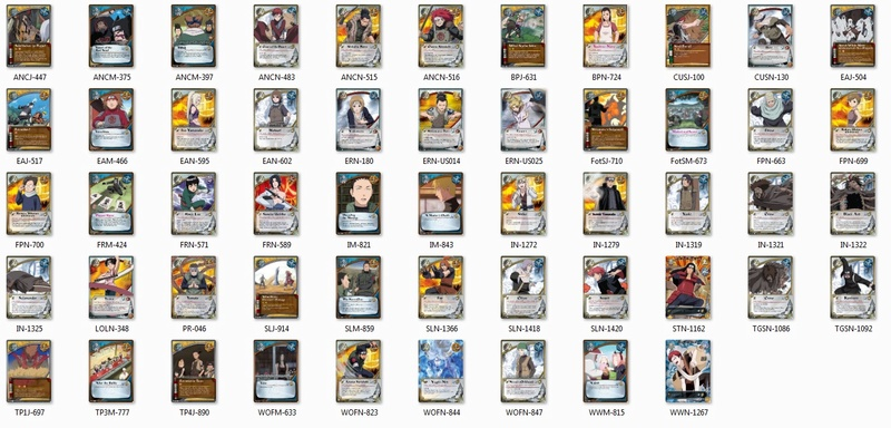 All Legal and Reprinted Cards/Sets in Block 2710