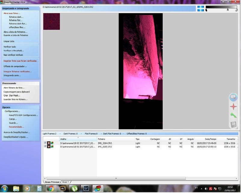 DeepSky Imagem esticada Dss10