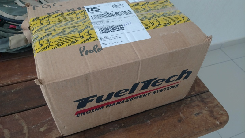Turbo - Preparando um 4cc turbo injetado. Img_2014