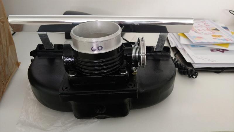 Turbo - Preparando um 4cc turbo injetado. Img_2018