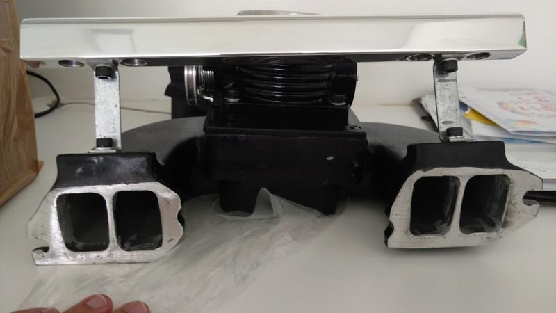Turbo - Preparando um 4cc turbo injetado. Img_2020