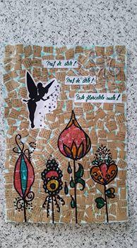 "Vot provocare Art Journaling feb. 2017 - ""Mozaic "" (Maria Oprea) Beatri11"