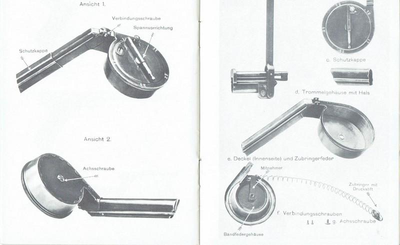 Aide pour démontage chargeur de tambour (escargot). Ccf08010