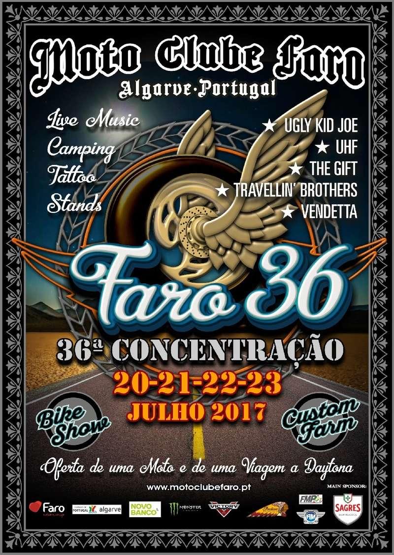 Cartaz da 36ª Concentraçao de Faro Faro_210