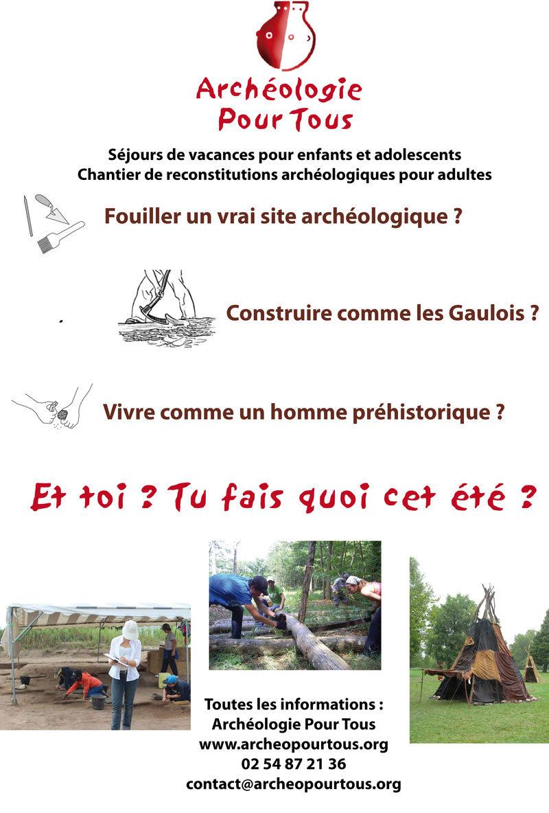 Archéologie Pour Tous: les séjours de l'été 2017 Pub_yt10