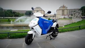 Scooter électrique en libre service à Paris : test et avis - Mober / Cityscoot Citysc10