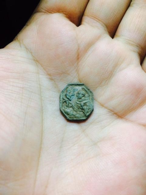 Nuestra Señora de Velen / San Antonio de Padua, S. XVIII Medall11
