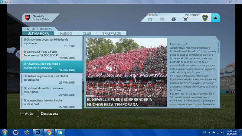 Imágenes de prensa/noticias (Primera división de ARGENTINA) 1610