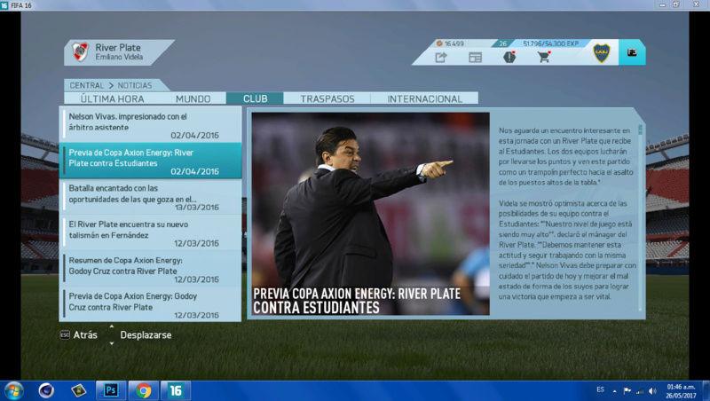Imágenes de prensa/noticias (Primera división de ARGENTINA) 2110