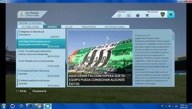 Imágenes de prensa/noticias (Primera división de ARGENTINA) 510