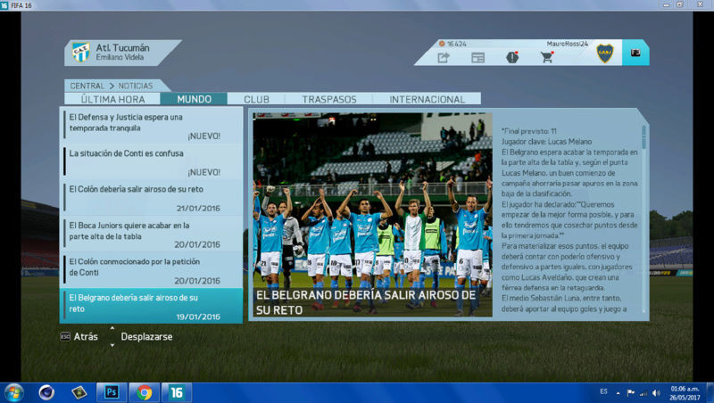 Imágenes de prensa/noticias (Primera división de ARGENTINA) 610
